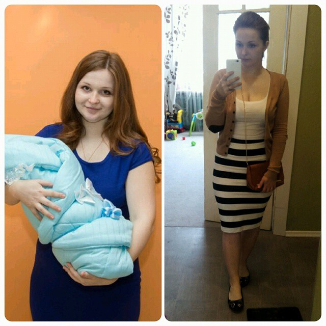 фото худеющих до и после