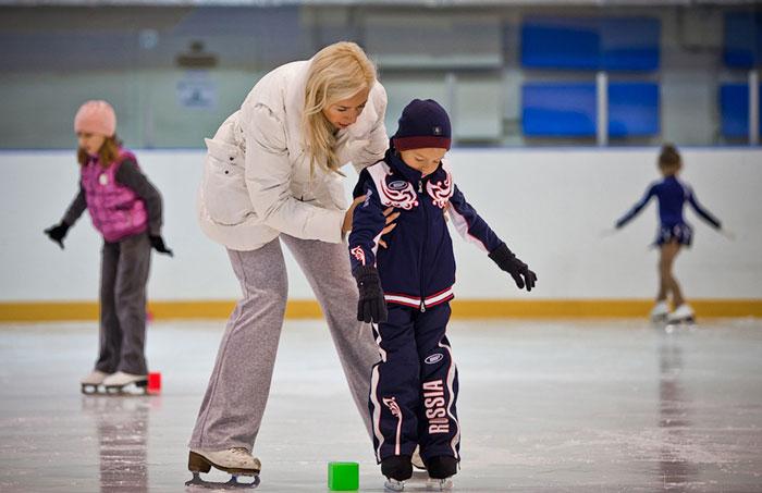 частные уроки фигурного катания для детей