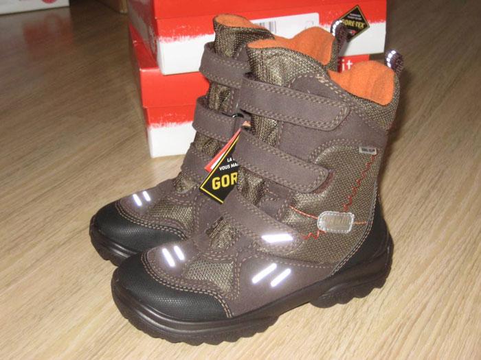 Мембранная зимняя обувь для детей 61