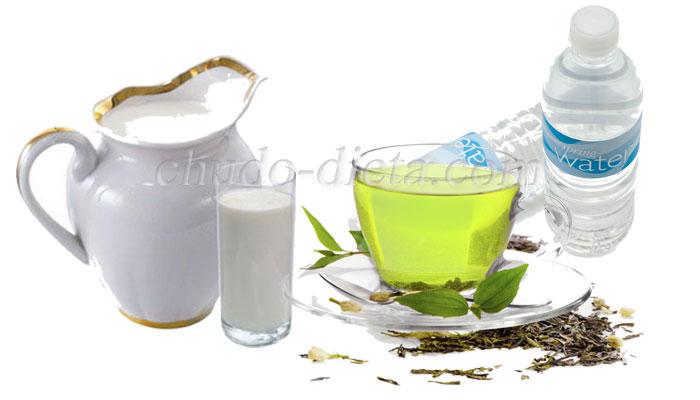 Диета Зеленый чай с молоком: один день или целая неделя