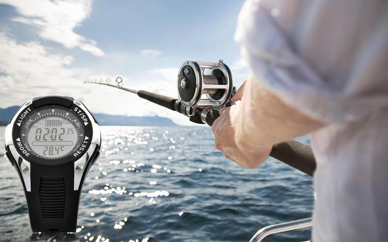 часы для рыбалки и охоты с барометром