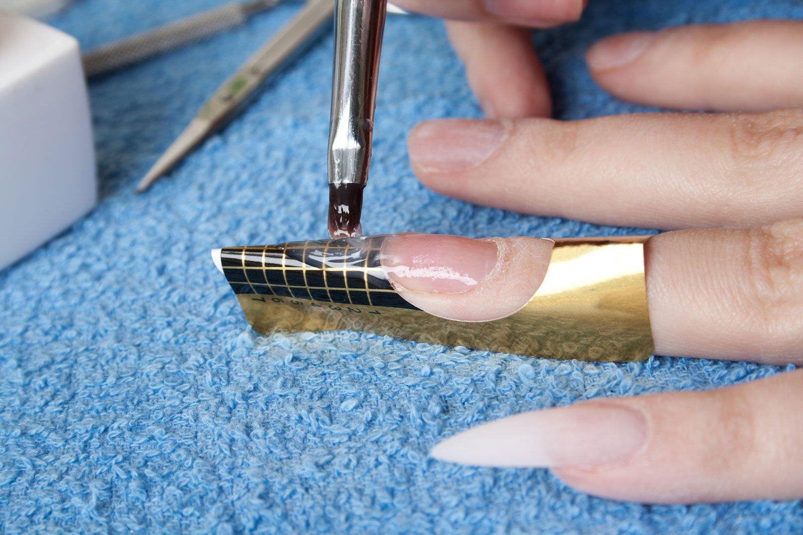 Наращивание ногтей гелем в домашних условиях для начинающих что нужно