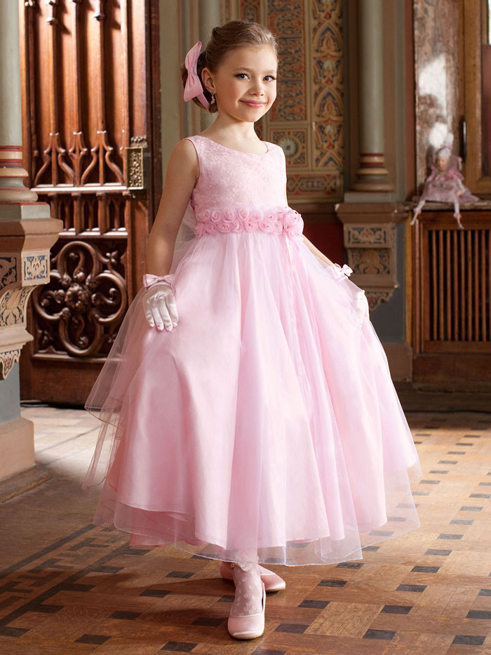Длинное платье для детей