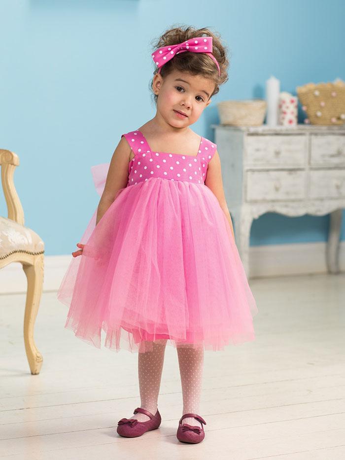 Детское платье с лосинами
