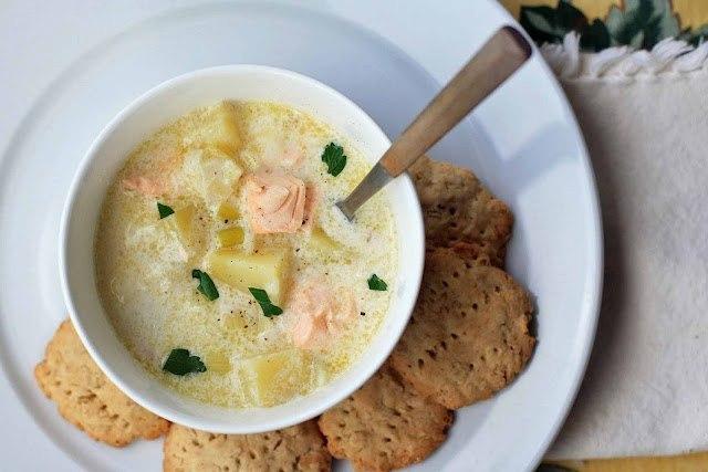 Норвежский рыбный суп  рецепт Едим ТВ  YouTube
