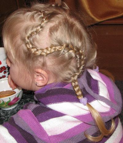 Прически колосок для девочек своими руками 170