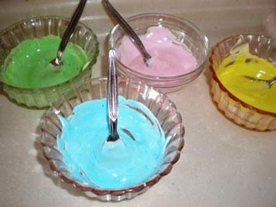 Как сделать зеркальную глазурь цветную